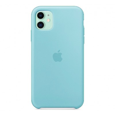 Чехол для iPhone Apple iPhone 11 Silicone Case Blue