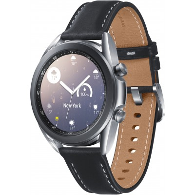 Часы Samsung Galaxy Watch3 41 мм  Серебро