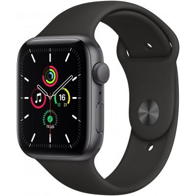 Часы Apple Watch SE GPS 40mm Aluminum Case with Sport Band (Серый космос/Черный)