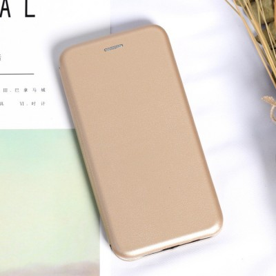 Чехол-книжка для Xiaomi Redmi Note 10 Pro Gold (Золотая)