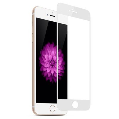 Защитное Стекло 2D Для Iphone 7 White