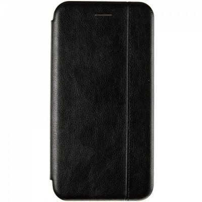 Чехол-Книжка для Xiaomi Redmi 9 Black (Черный)