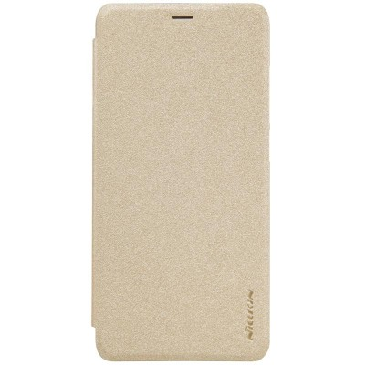 Чехол Книжка Nillkin Sparkle leather для Xiaomi Redmi 6a Gold