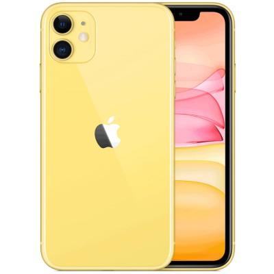 Смартфон Apple iPhone 11 64GB Yellow (Желтый) MWLW2RU/A