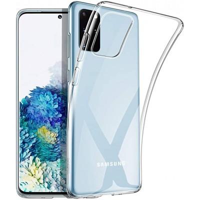Силиконовый Чехол Для Samsung Galaxy S20 Прозрачный