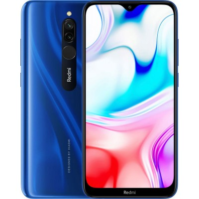 Смартфон Xiaomi Redmi 8 4/64GB Blue (Голубой сапфир) EAC