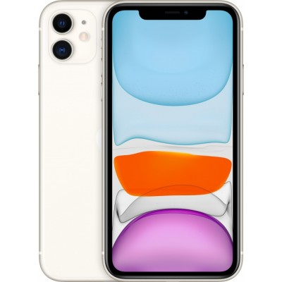 Смартфон Apple iPhone 11 128GB White (Белый) Dual Sim A2223..