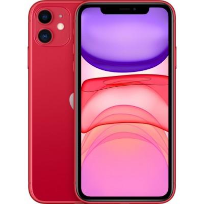 Смартфон Apple iPhone 11 128GB Red (Красный) MHDK3RU/A
