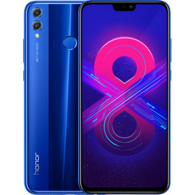 Смартфон Huawei Honor 8x 4/64GB Blue (Синий) RU