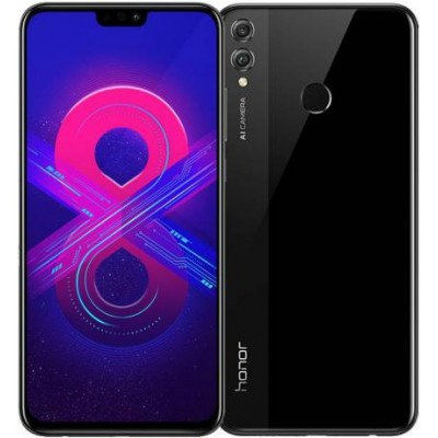 Смартфон Huawei Honor 8x 4/64GB Black (Черный) RU