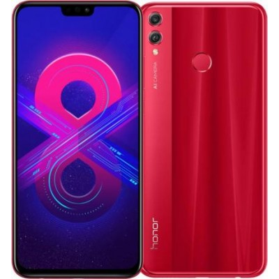 Смартфон Huawei Honor 8x 4/64GB Red (Красный) Global Version
