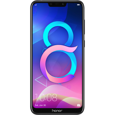 Смартфон Honor 8C 3/32Gb Black Чёрный (RU)