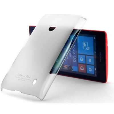 Супер Тонкая накладка Imak 0,7мм for Nokia Lumia 520 Color White