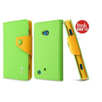 Чехол Imak  для Nokia Lumia 720 Color Green