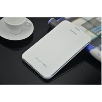 Leather book cover case for Samsung Galaxy Tab 3 7.0  White