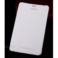 Leather book cover case for Samsung Galaxy Tab Pro 8.4 325/320 White