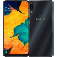 Смартфон Samsung Galaxy A30 (2019) 32Gb SM-A305 Black (Черный)