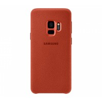 Чехол Samsung Alcantara Cover S9 Red