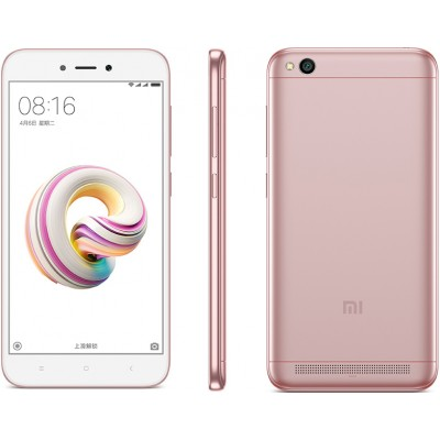 Смартфон Xiaomi Redmi 5A 16Gb Gold Pink (Розовый)