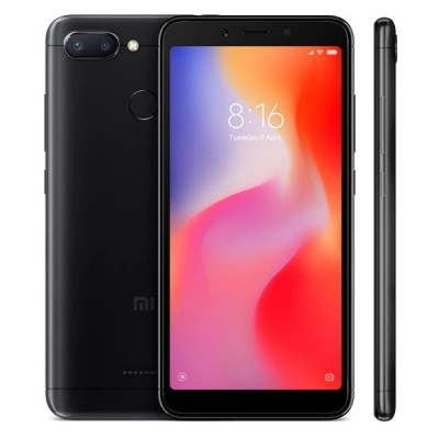 Смартфон Xiaomi Redmi 6 4/64GB Black Global (Черный)