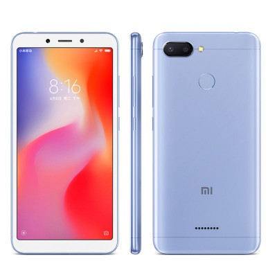 Смартфон Xiaomi Redmi 6 4/64GB Blue Global (Голубой)