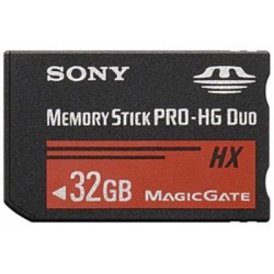 Карта памяти Sony MS Pro-HG Duo 32Gb MS-HX32B